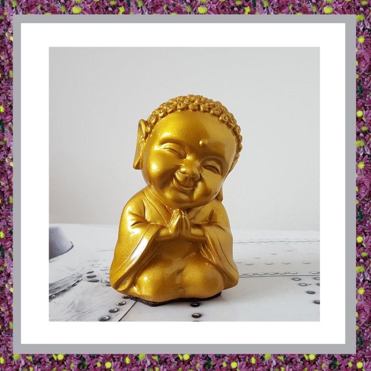 Buddha Sierurntje Goudkleur