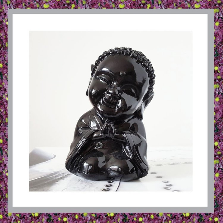 Buddha Sierurntje Zwart