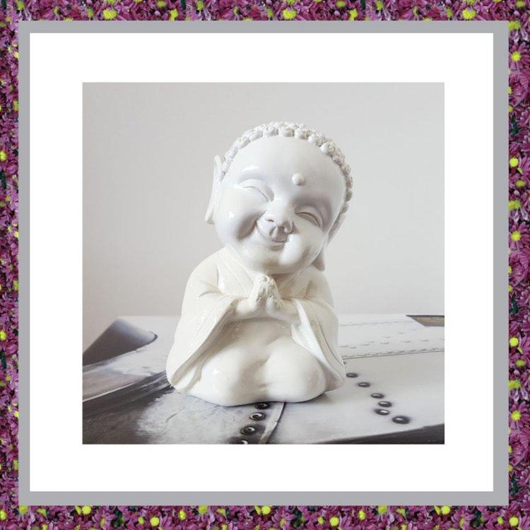 Buddha Sierurntje Wit