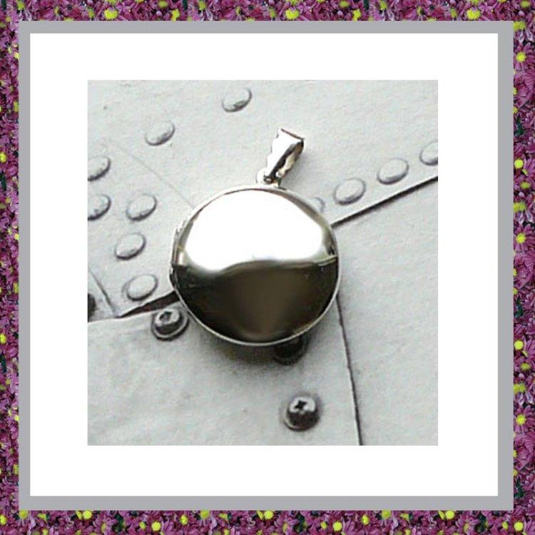 Medaillon Sterling Zilver Bol
