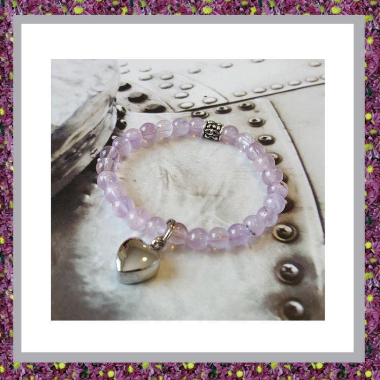 Asarmband Karma Purple Sky XS