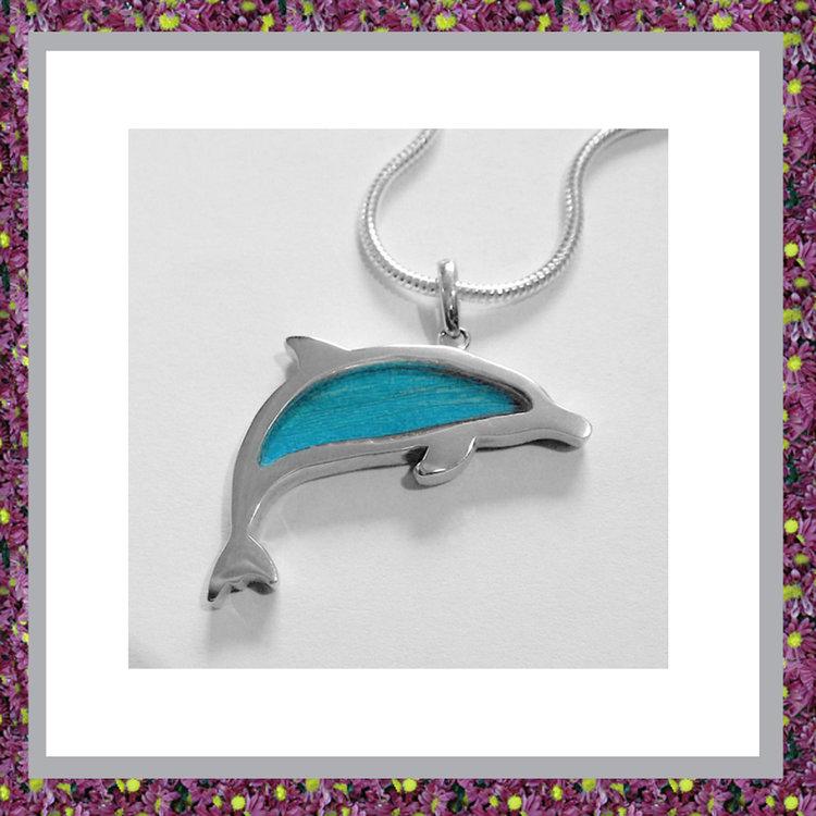 Dolfijn met haarlokverwerking