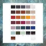 Leer div kleuren Zilver Vingerafdruk Smal_