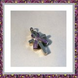 Kruis met paarse Ribbon 03_