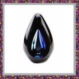 Glasreliek Diamond Black Blue_