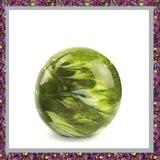 Glasreliek Bol Marble Green M_