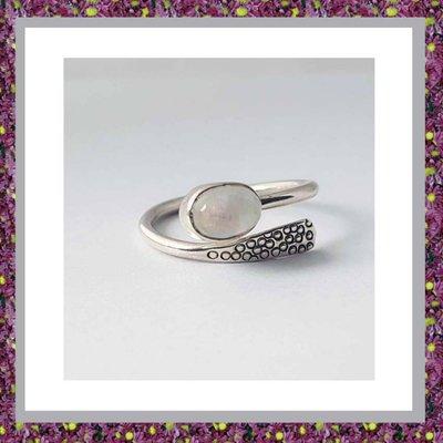 Asring Zilver met Maansteen SO