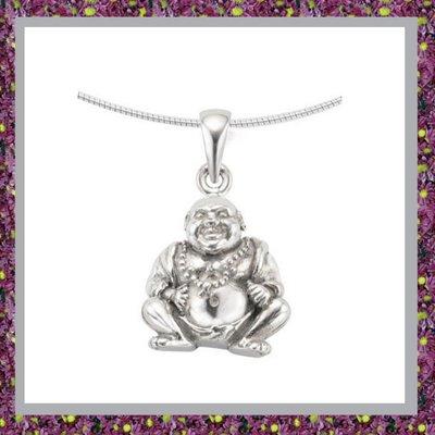 Buddha Zilver