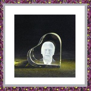 Hart met Laser Fotogravure