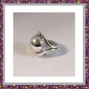 Asring Zilver Bol Modern