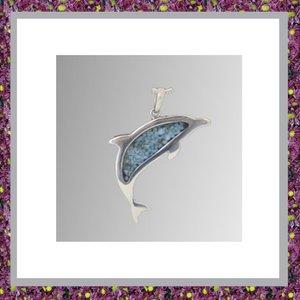 Dolfijn met asverwerking