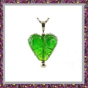 Glasbedel Hart Groen