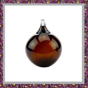Glasreliek Asdruppel Bubble Cognac