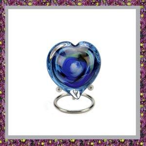 Glasreliek Blauw Multi Color