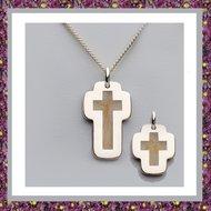 haarsieraden-haarloksieraad-infinity-gedenksieraden-gedenksieraad-kruis-groot-klein-zilver-haarlok